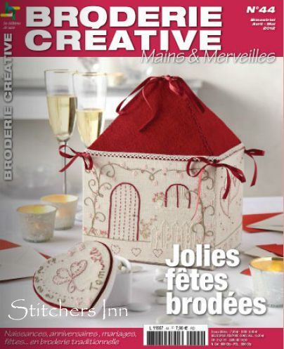 Broderie Créative n° 44 - Revista francesa de Bordado