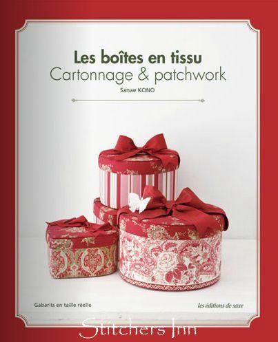 Les boîtes en tissu - Sanae Kono