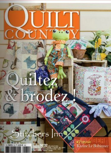 Quilt Country nr. 32 - Revista francesa de Patchwork
