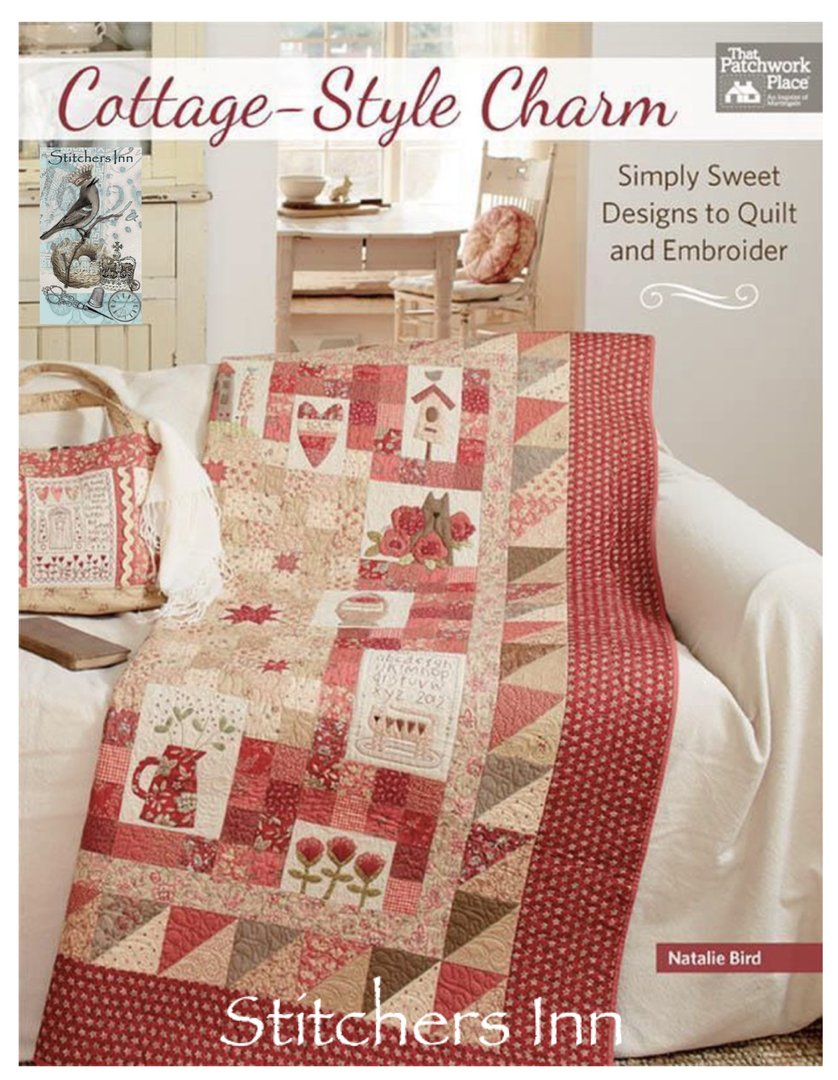 Red Home Quilt Book - The Birdhouse