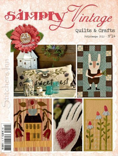 Simply Vintage Nr.14 - French Quilts & Crafts magazine
