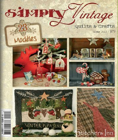 Simply Vintage Nr. 9 - French Quilts & Crafts magazine