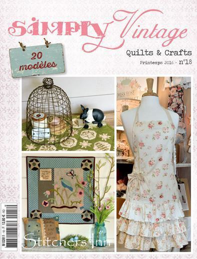 Simply Vintage Nº18 - French Quilts & Crafts magazine