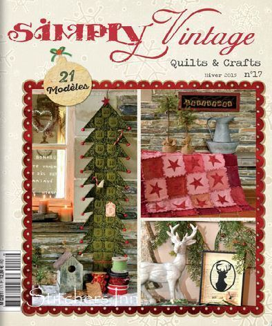 Simply Vintage Nº17 - French Quilts & Crafts magazine