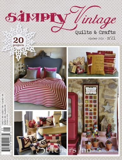 Simply Vintage Nº21 - French Quilts & Crafts magazine