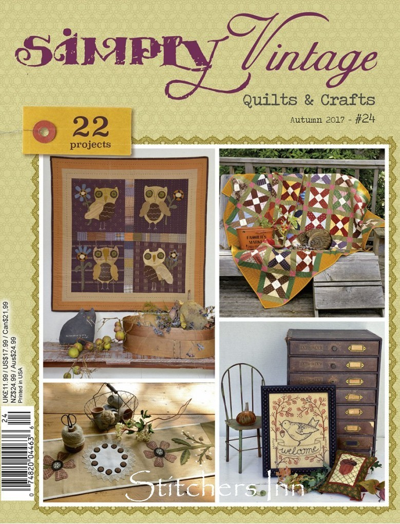 Simply Vintage Nº24 - French Quilts & Crafts magazine