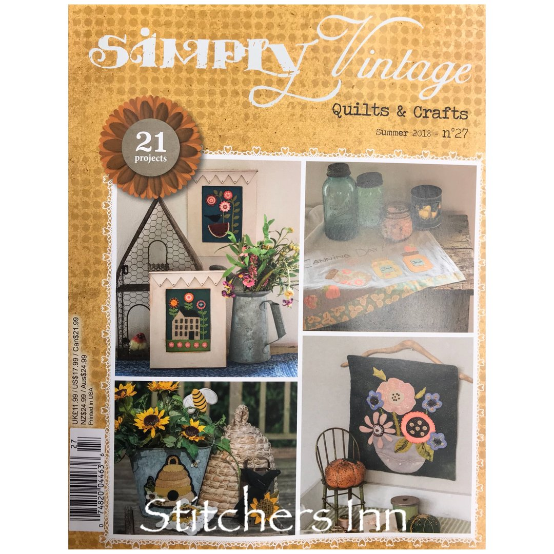 Simply Vintage Nº27 - French Quilts & Crafts magazine