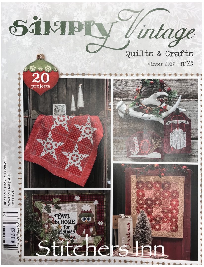 Simply Vintage Nº25 - French Quilts & Crafts magazine