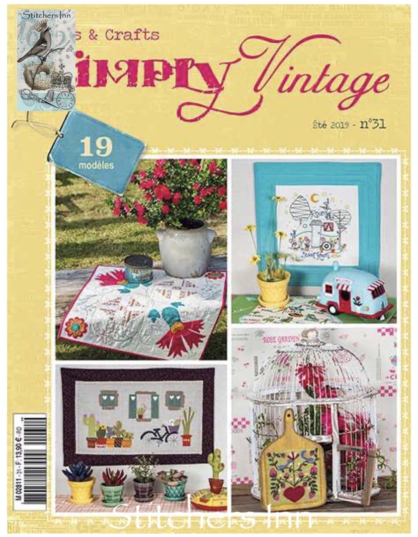 Simply Vintage Nº31 - French Quilts & Crafts magazine