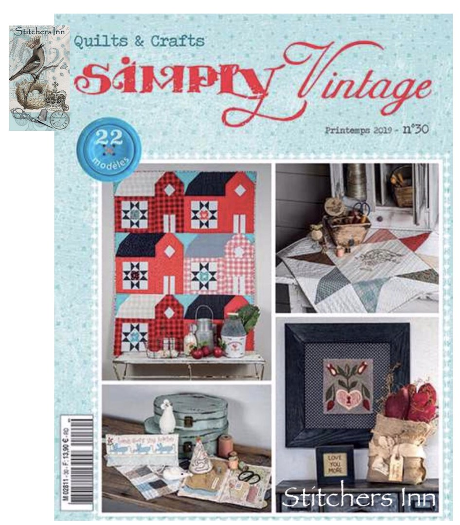 Simply Vintage Nº30 - French Quilts & Crafts magazine