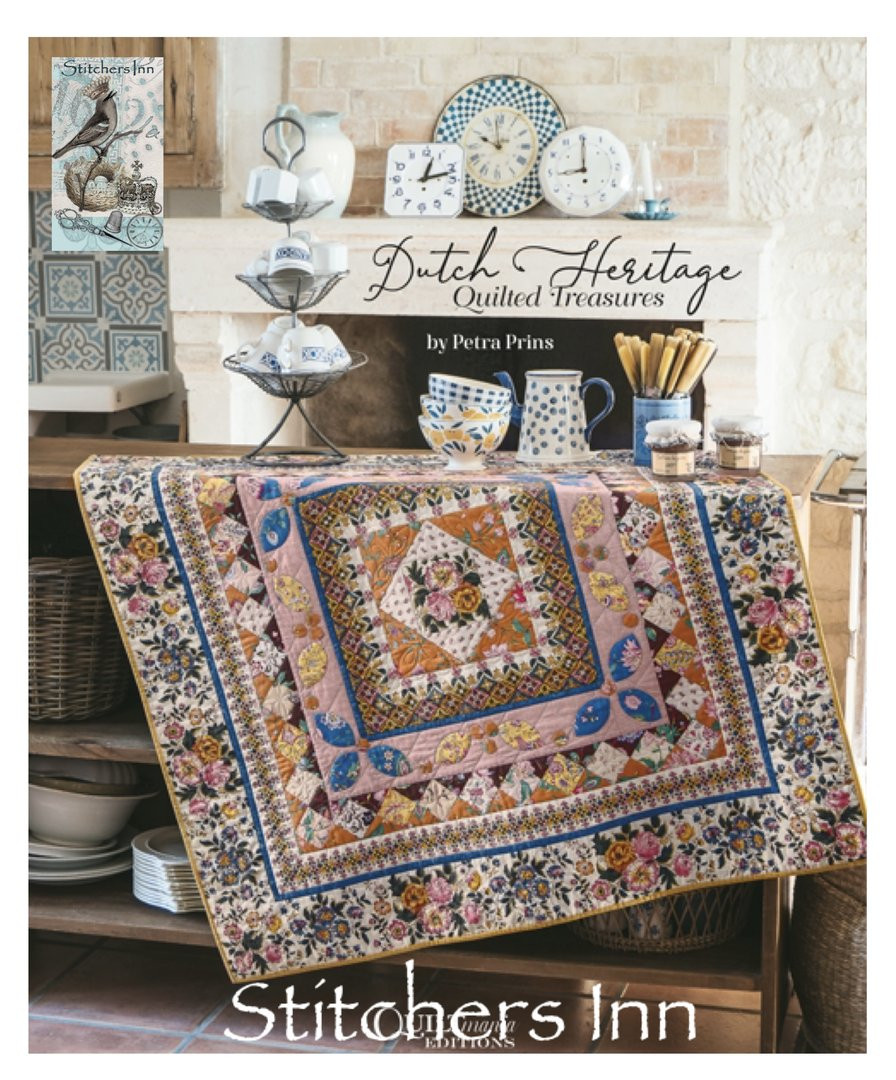 Dutch Heritage Quilted Treasures - Petra Prins