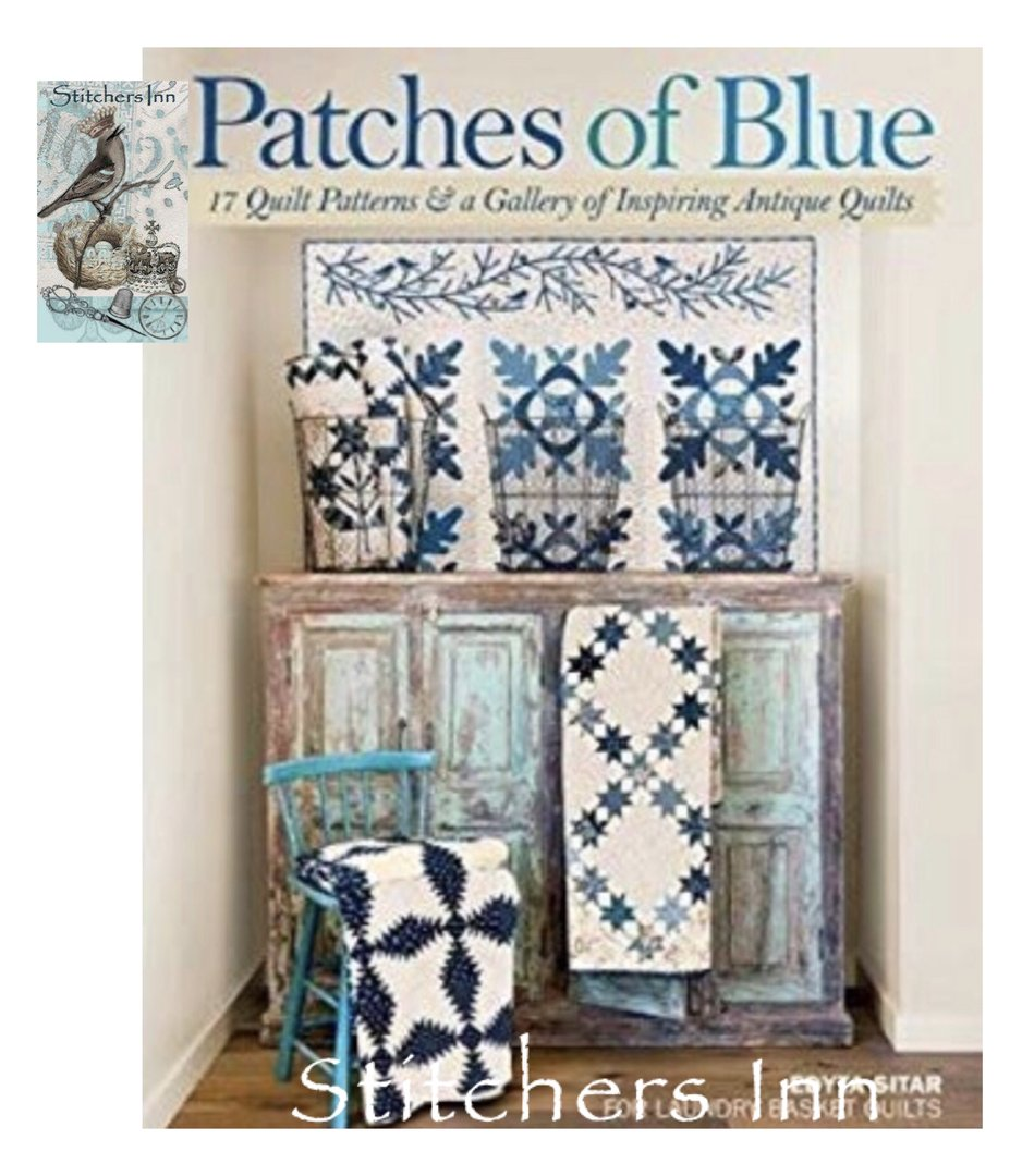 Patches of Blue - Edyta Sitar