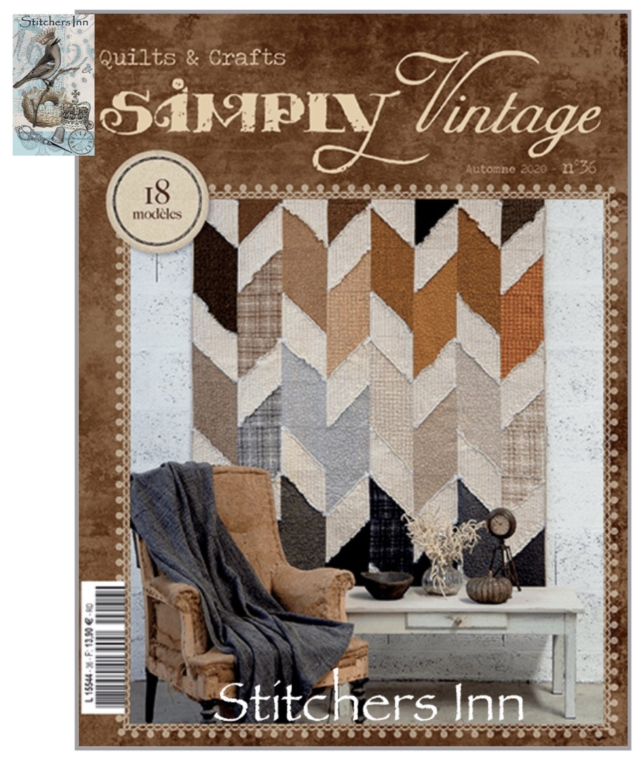 Simply Vintage Nº36 - French Quilts & Crafts magazine