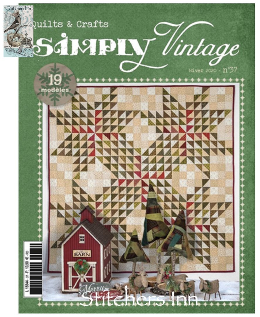 Simply Vintage Nº37 - French Quilts & Crafts magazine