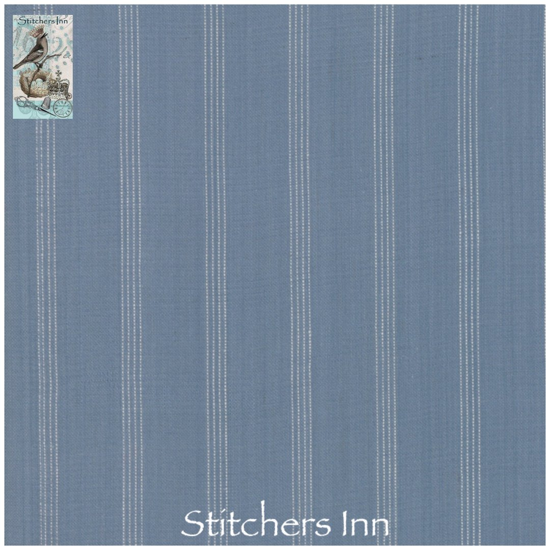 Northport Silky Wovens - Medium Blue Stripe