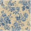 "Achterkant Stof - Historical Backings 108"" - Floral Blue"