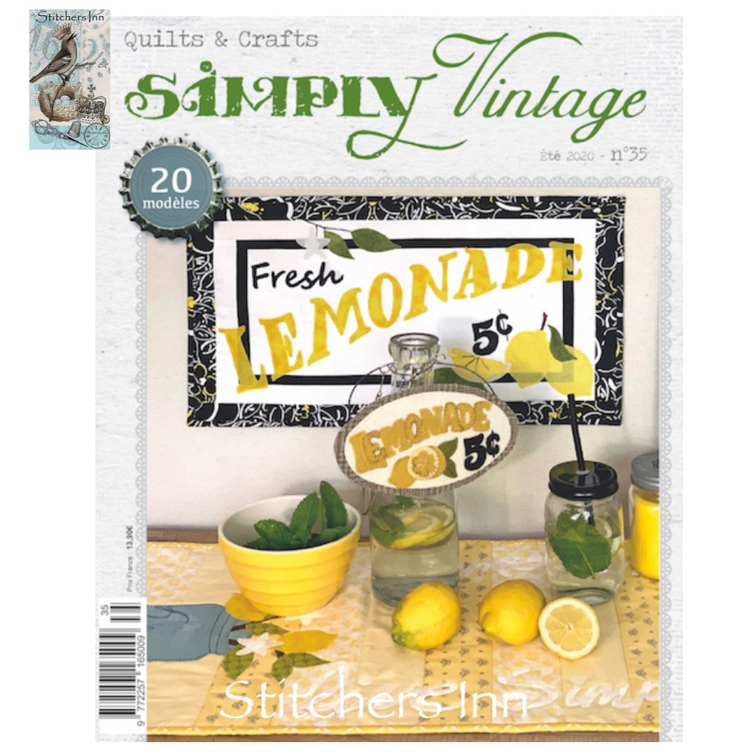 Simply Vintage Nº35 - French Quilts & Crafts magazine