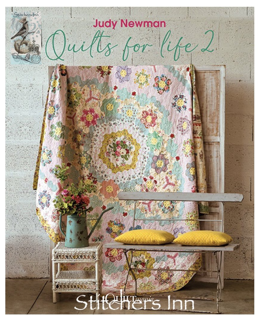 Quilts for life 2 - Judy Newman - PRE-ORDER