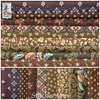 Schoolgirl Sampler ✿ Dark Brown Fabric Bundle