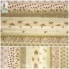 Schoolgirl Sampler ✿ Light Brown Fabric Bundle