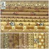 Schoolgirl Sampler ✿ Brown Fabric Bundle