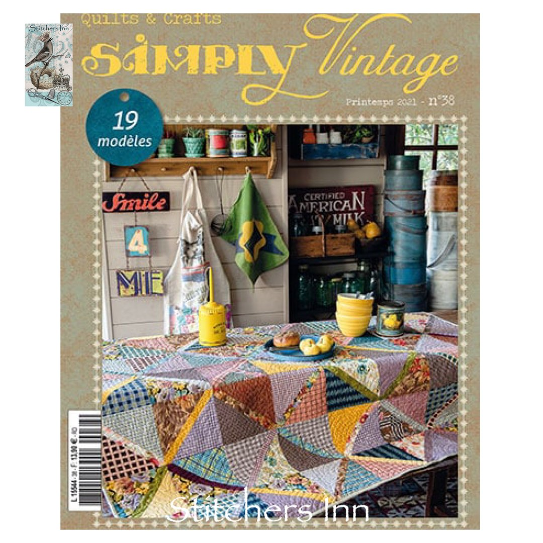 Simply Vintage Nº38 - French Quilts & Crafts magazine