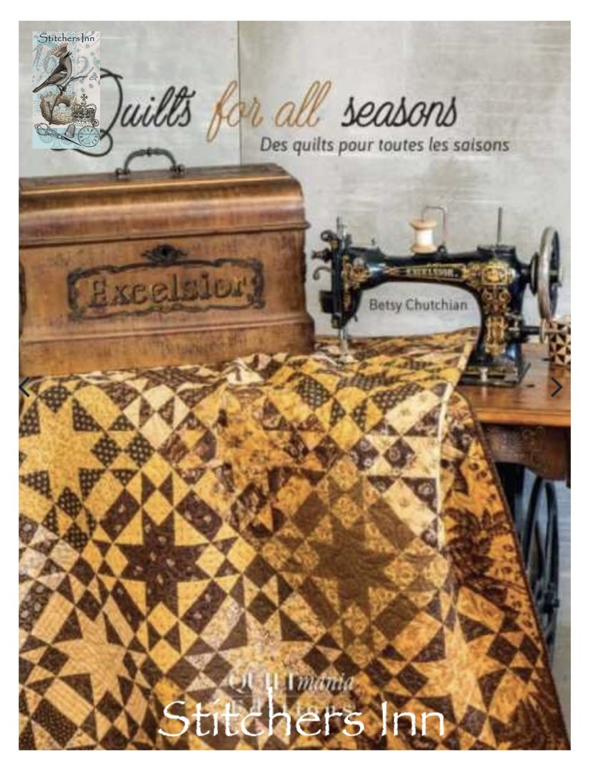 Quilts for all Seasons - Betsy Chutchian